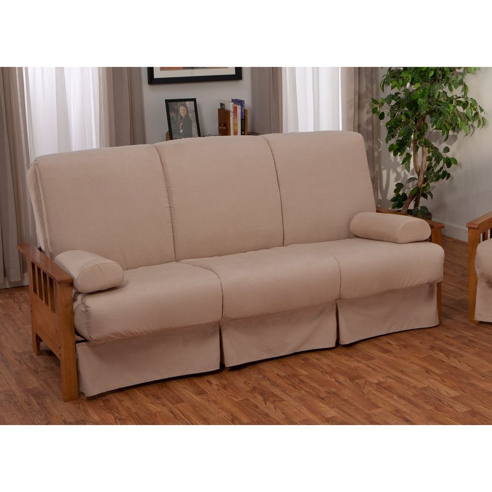 Provo Perfect Sit Sleep Mission Style Pillow Top Queen Size Sofa Bed Ping Great Deals On Epicfurnishings Futons