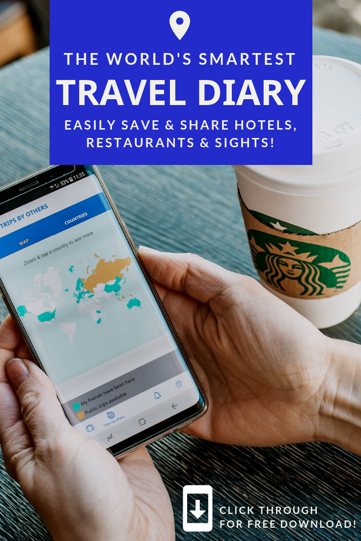 How to download the world's smartest AI powered Travel Diary App for