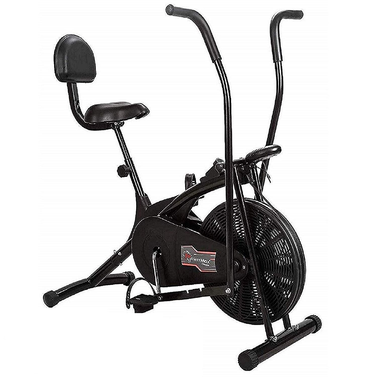 Fitness Air Bike Exercise Cycle With Back Support India