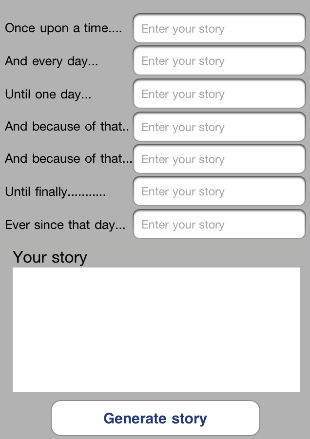 once upon a time story template - Romeo.landinez.co