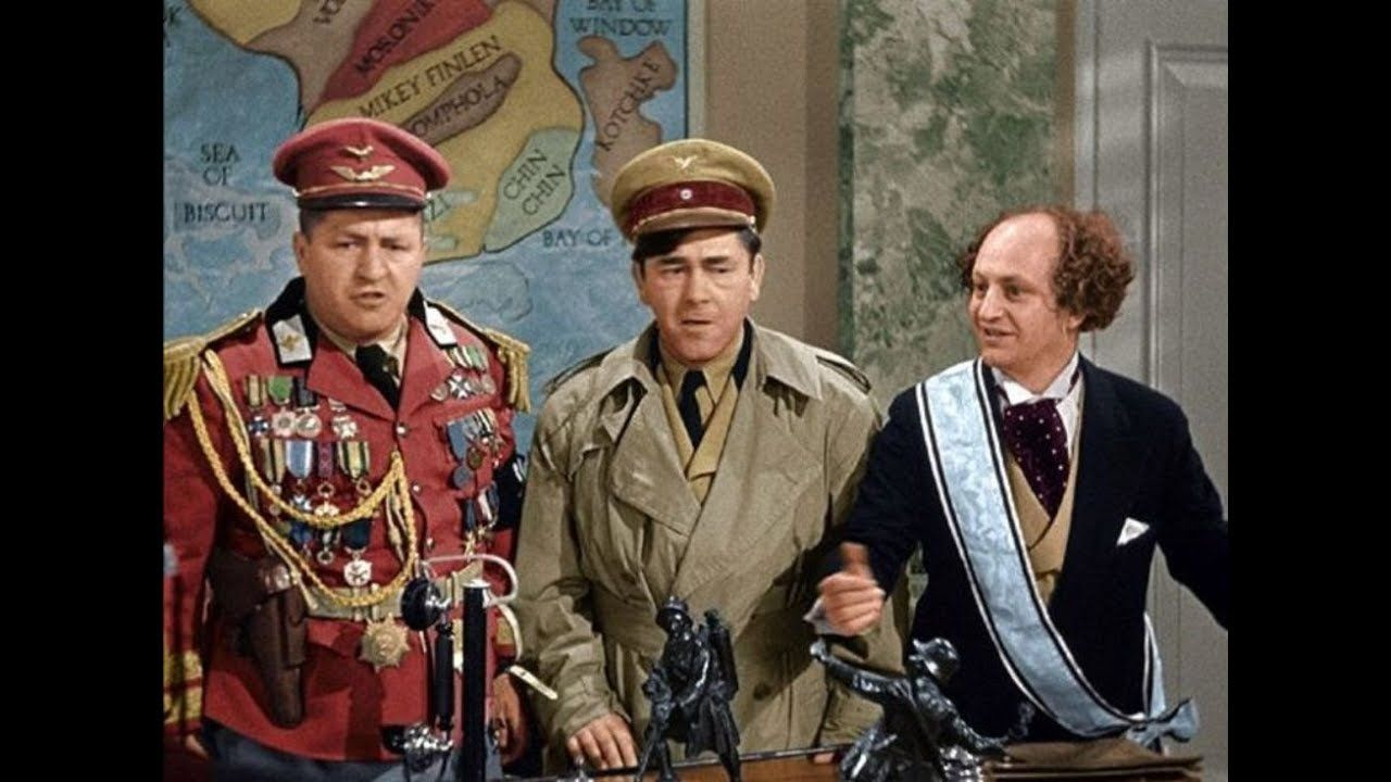 Image result for 044 The Three Stooges: You Nazty Spy! (1940)