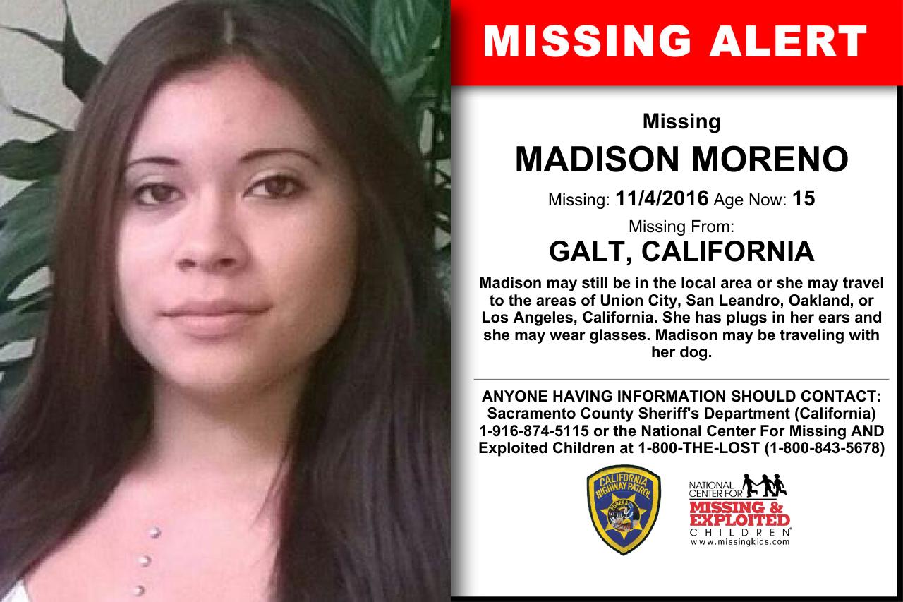 Image result for madison moreno missing