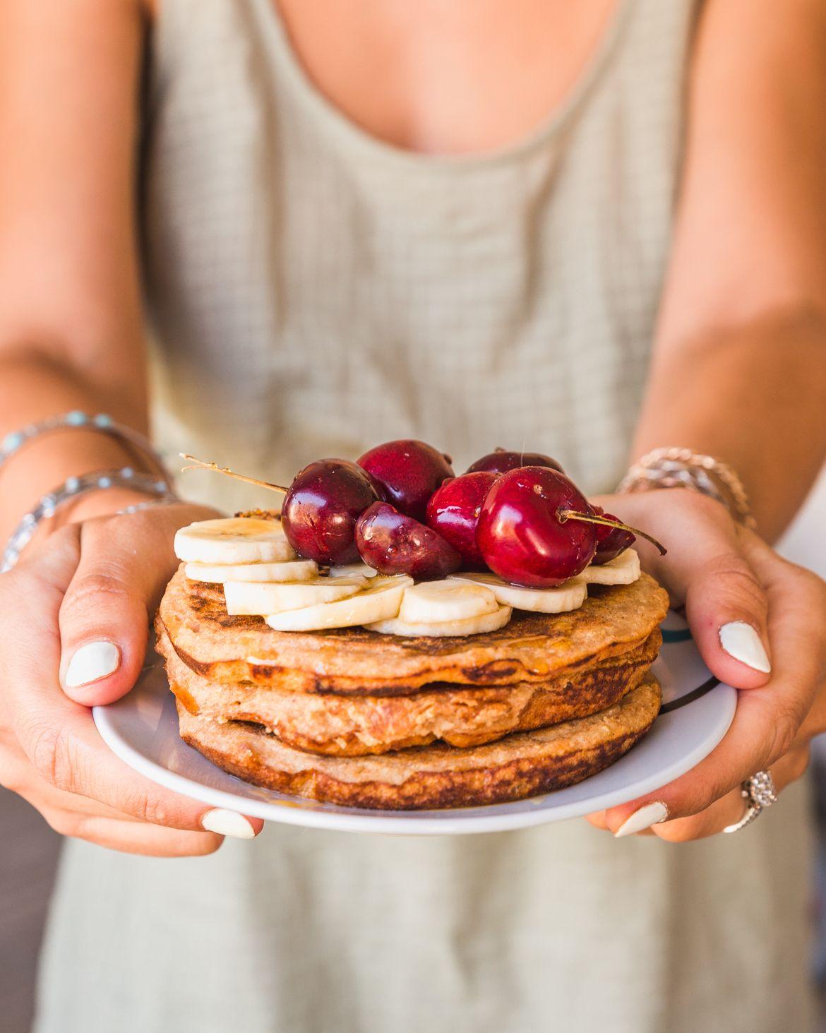 Pancakes légers « super healthy » | Recette | Pancakes leger, Alimentation, Recette pancakes