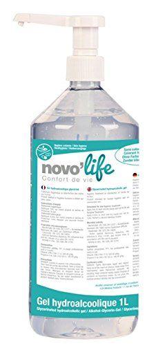 Novolife Gel Hydroalcoolique Pour Les Mains 1 L Hand Soap Bottle