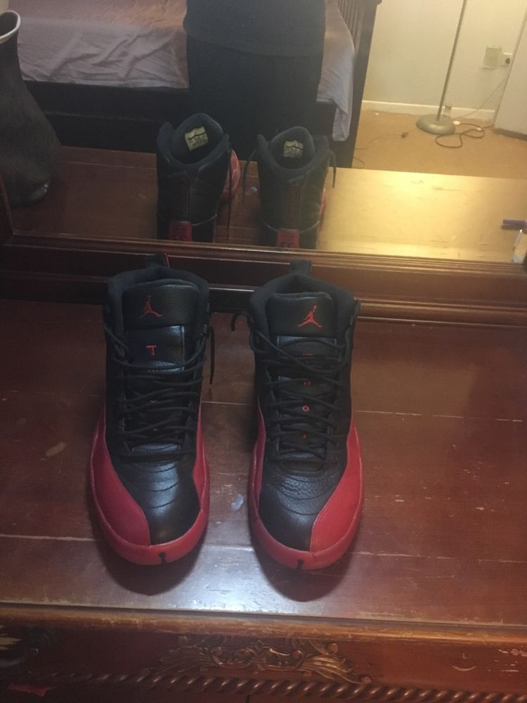 half off 9cfa0 1ec85 Jordan 12 FLU GAMES SZ 11  fashion  clothing  shoes  accessories  mensshoes   athleticshoes (ebay link)