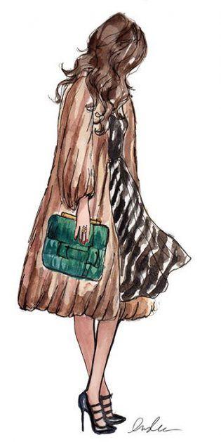 Trendy Fashion Sketches Illustration Life Ideas