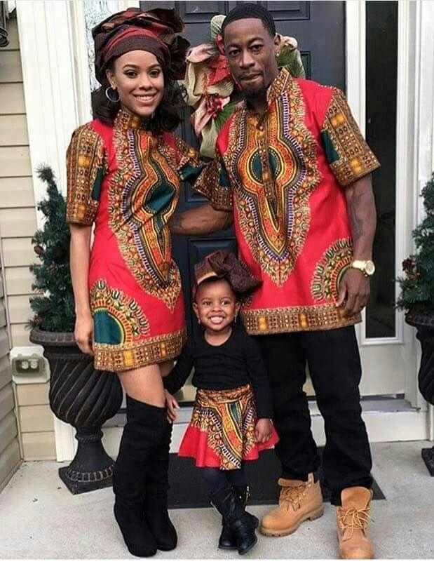 African theme wedding party outfits wedding ideas Pinterest