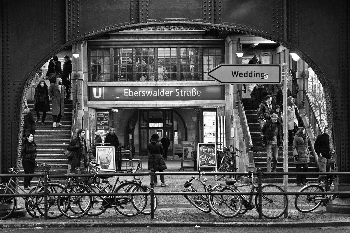 Eberswalder Strasse Ubahn Station In Prenzlauer Berg Berlin Metro