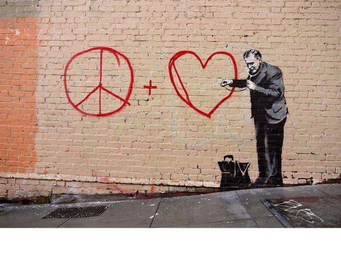 68 Incredible Works of Art by Banksy #banksyart