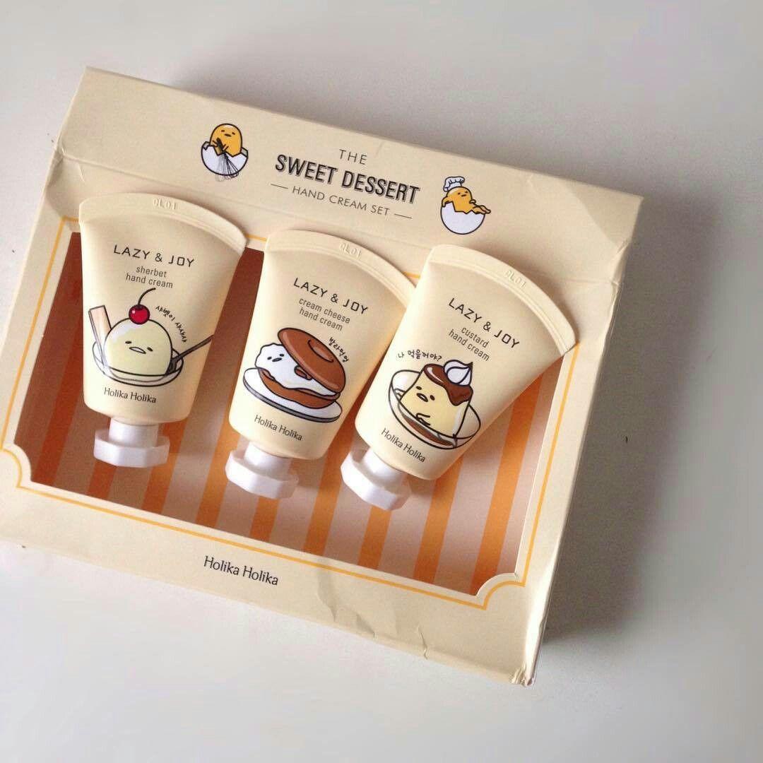 Holika Holika Gudetama Hand Cream Con Imagenes Maquillaje