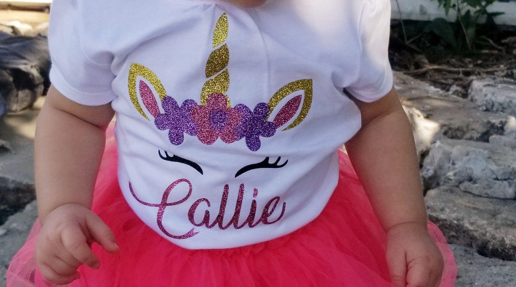 #unicornshirt .Unicorn shirt. I can personalize with any ...