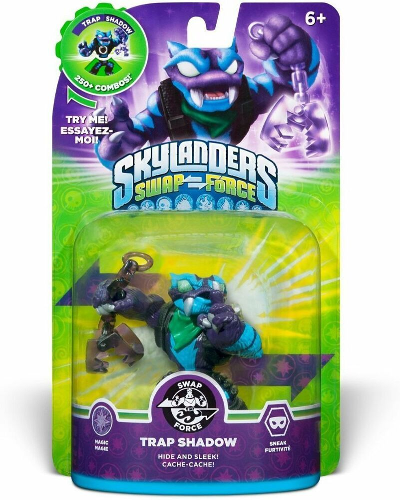Skylanders Swap Force Trap Shadow Video Game Figure