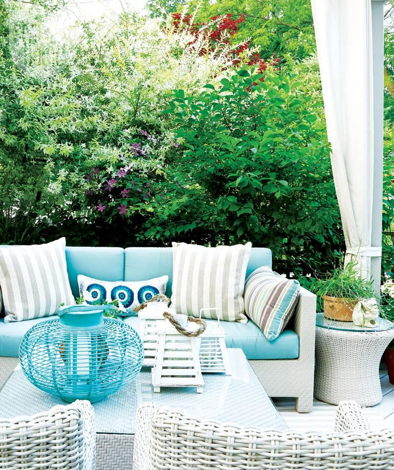 Outdoor living: Casual backyard oasis | Dream decor ... on Relaxed Outdoor Living id=51287