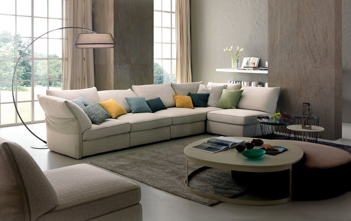 Avenue Sectional by Chateau D'ax, Italy. Shown in leather. Visit ...