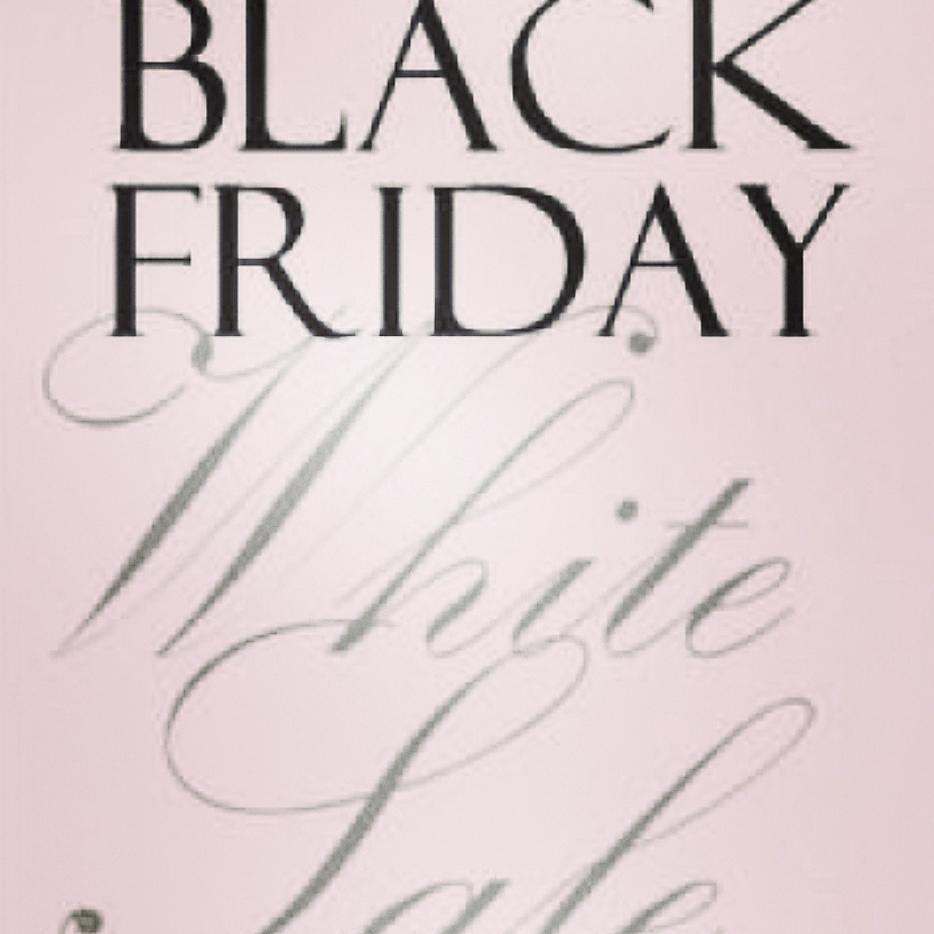 Black Friday White Sale bis zu 40% RABATT auf Brautmode (ausgenommen ...