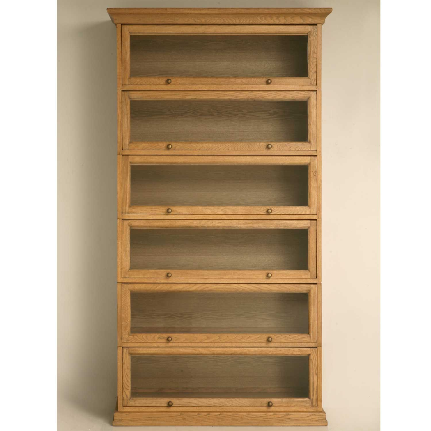 Bookcases | Oak Barrister Bookcase To Organize Your Books | Office Furniture