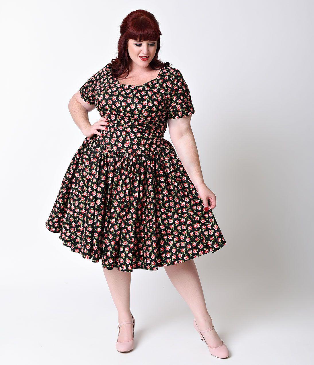 60s Plus Size Retro Dresses Clothing Costumes Mad Men Retro