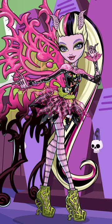 Bonita femur daughter of a moth father and a - Monster high bonita ...
