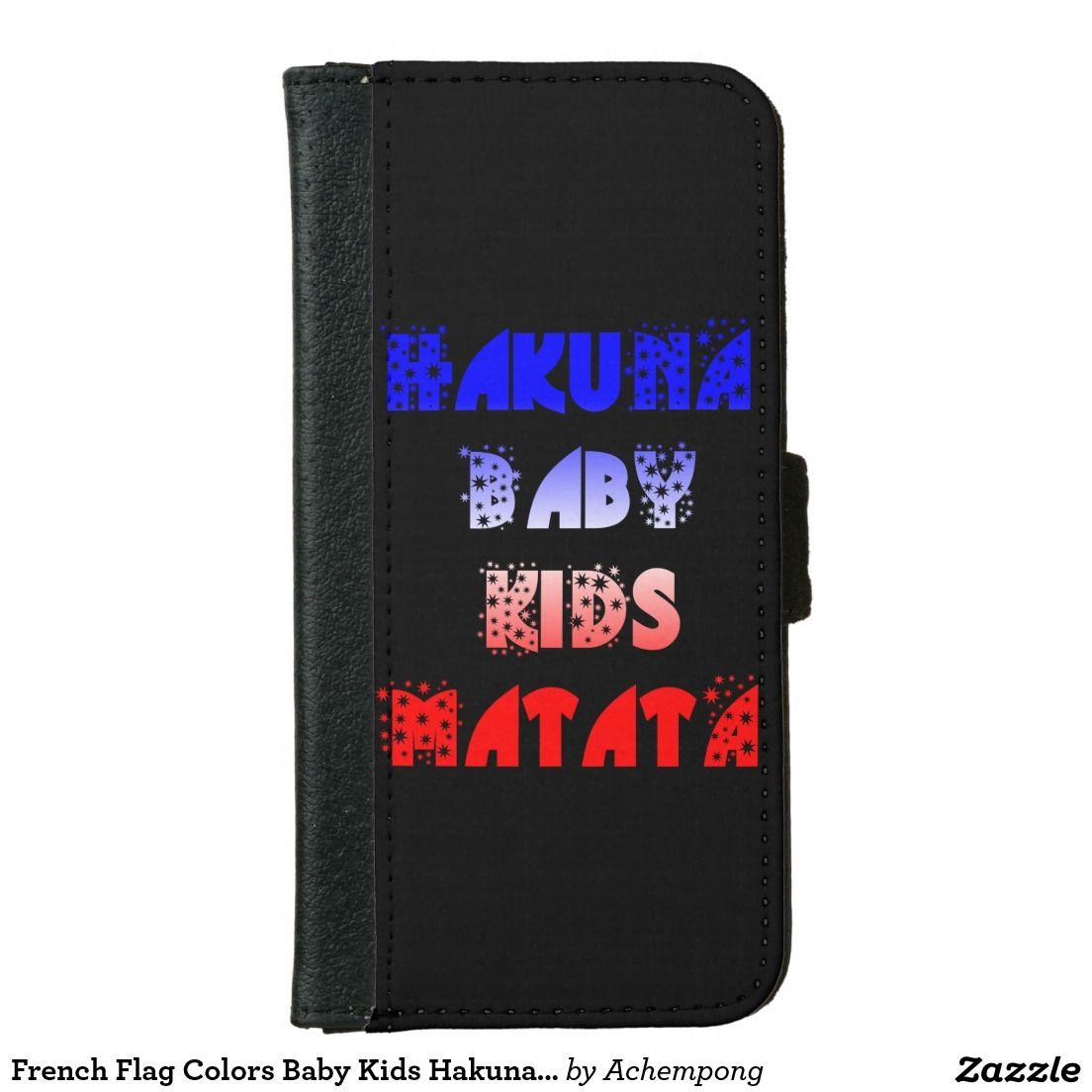 La bandera francesa colorea la cartera de Hakuna | La bandera ...