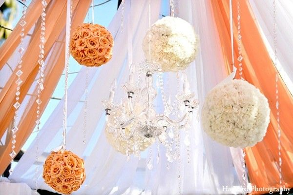 Flower balls outdoor wedding decorations pinterest weddings get ideas with our indian wedding inspiration gallery see pictures of indian weddings and search by category tag or color discover why maharani weddings junglespirit Images