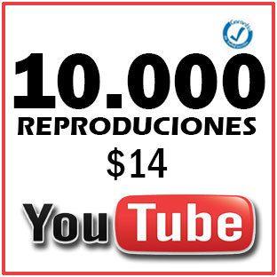 10.000 Reproduciones $14