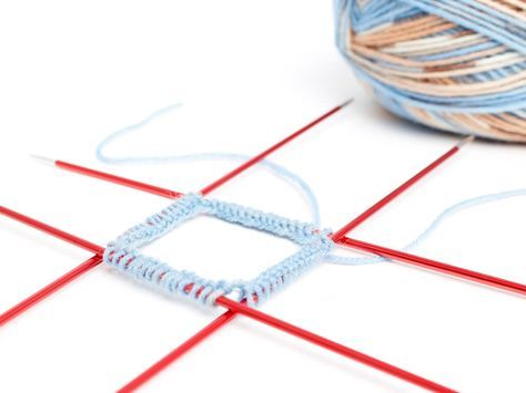 Chaussettes en tricot pour les nuls – instructions, y compris le tableau des tailles   – Wollige Sachen ! Stoff- Spielerei !