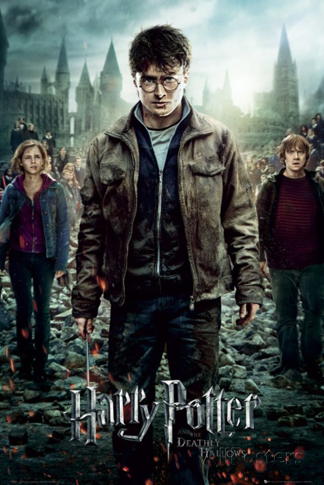Harry Potter 7 Part 2 One Sheet Posters Allposters Com Deathly Hallows Harry Potter Film