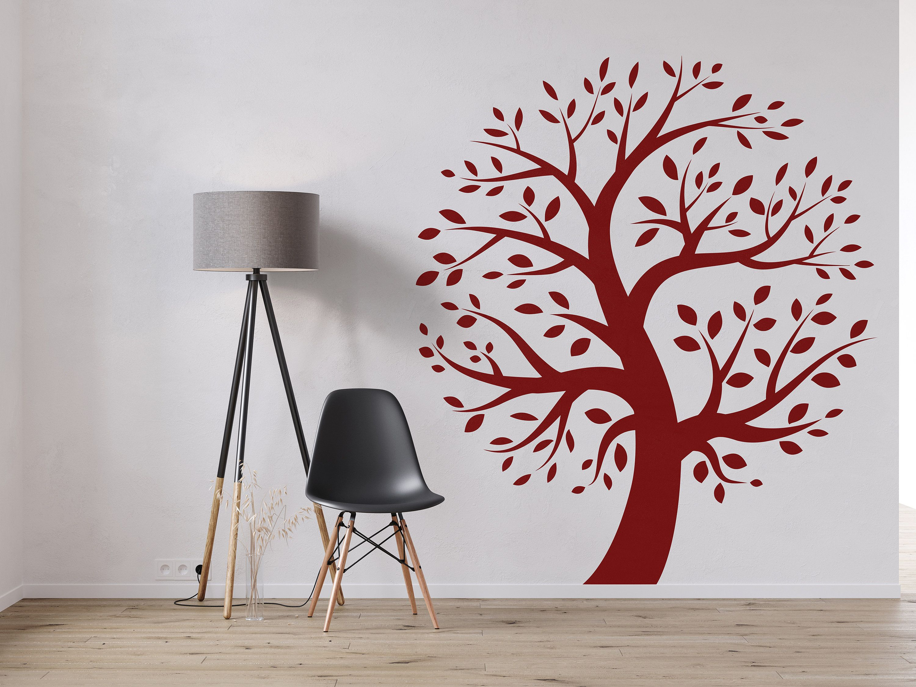 Tree Wall Decal Sticker Bedroom Tree Of Life Roots Birds Etsy In 2020 Tree Wall Decal Wall Decal Sticker Wall Decals