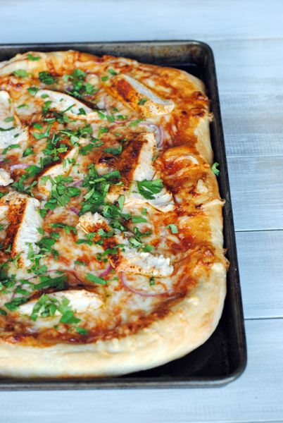 Smoky BBQ Chicken Pizza | Pizza recipes easy, Cooking