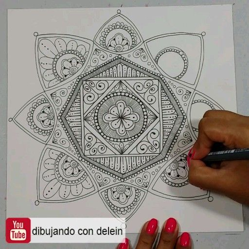 Photo of How to draw a mandala step by step