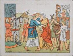 HISTOIRE SAINTE - Série V - n° 44 - Jacob et sa Famille Viennent s'établir en…