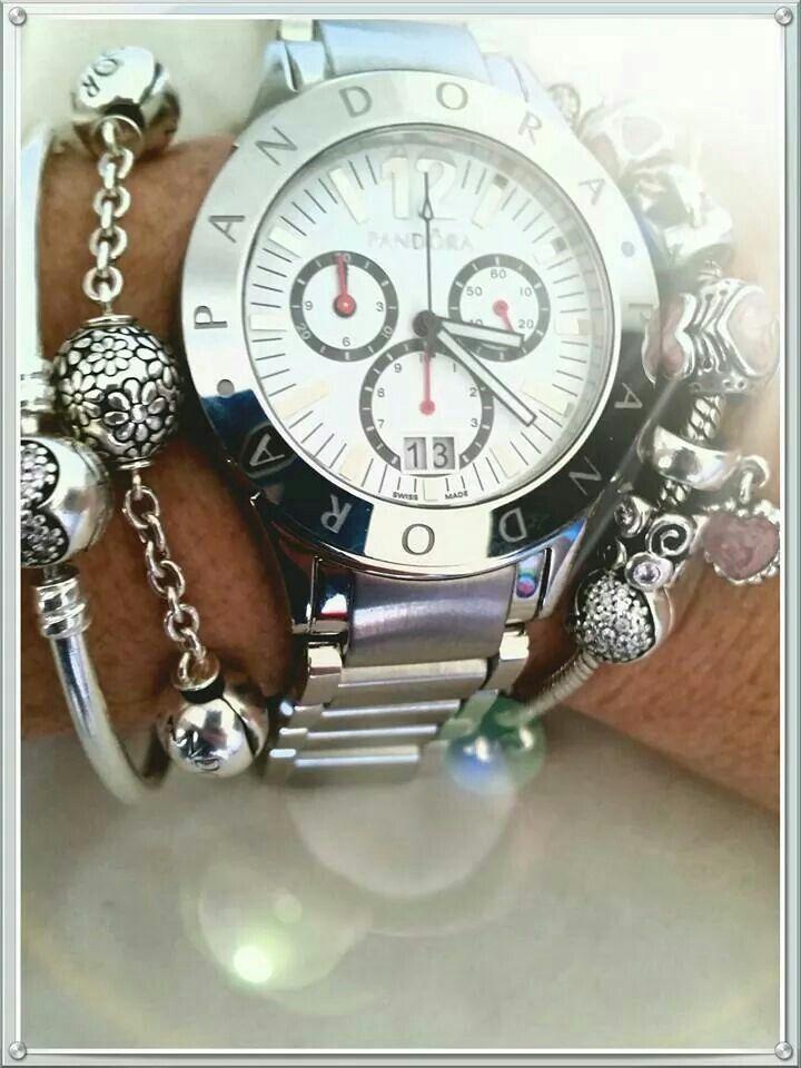 10864cf95 Want this Pandora watch. Want this Pandora watch Pandora Bracelets ...