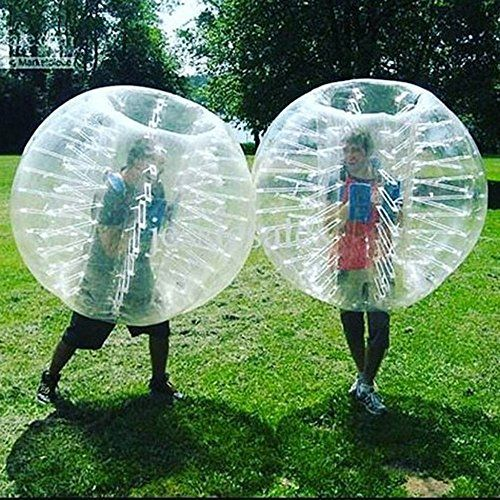 Stagersoccer Kids Size Bubble Soccer Ball Inflatable Bumper Ball Dia 4 12m For Parties Schools Activities Transparent Bubble Soccer Fun Games For Kids Bubbles