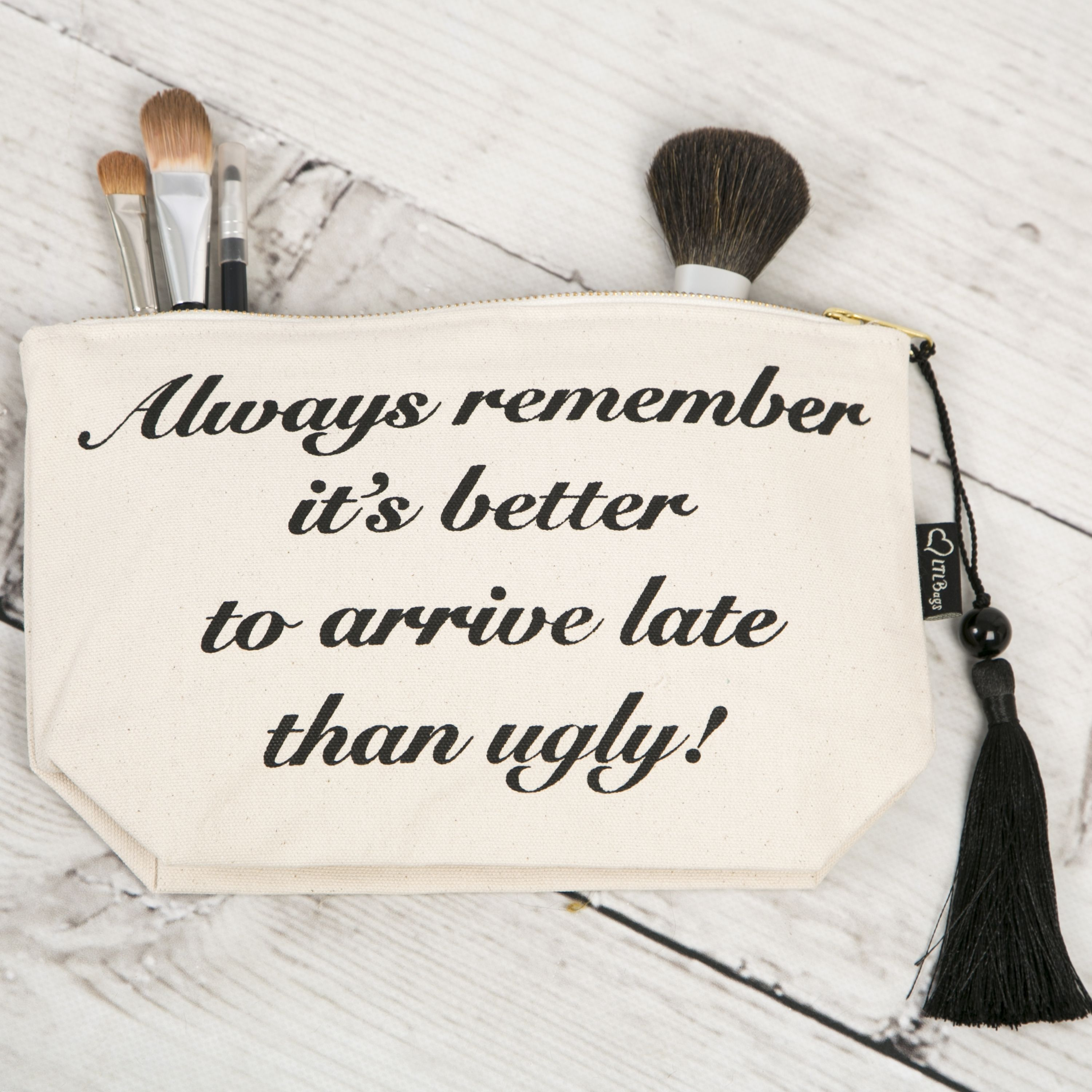 makeup bag with slogan Google Search (With images