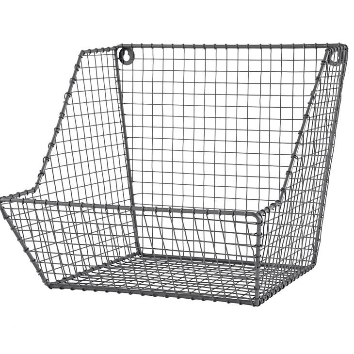 Wall Bin Wire Storage Kids Storage Wire Basket Storage