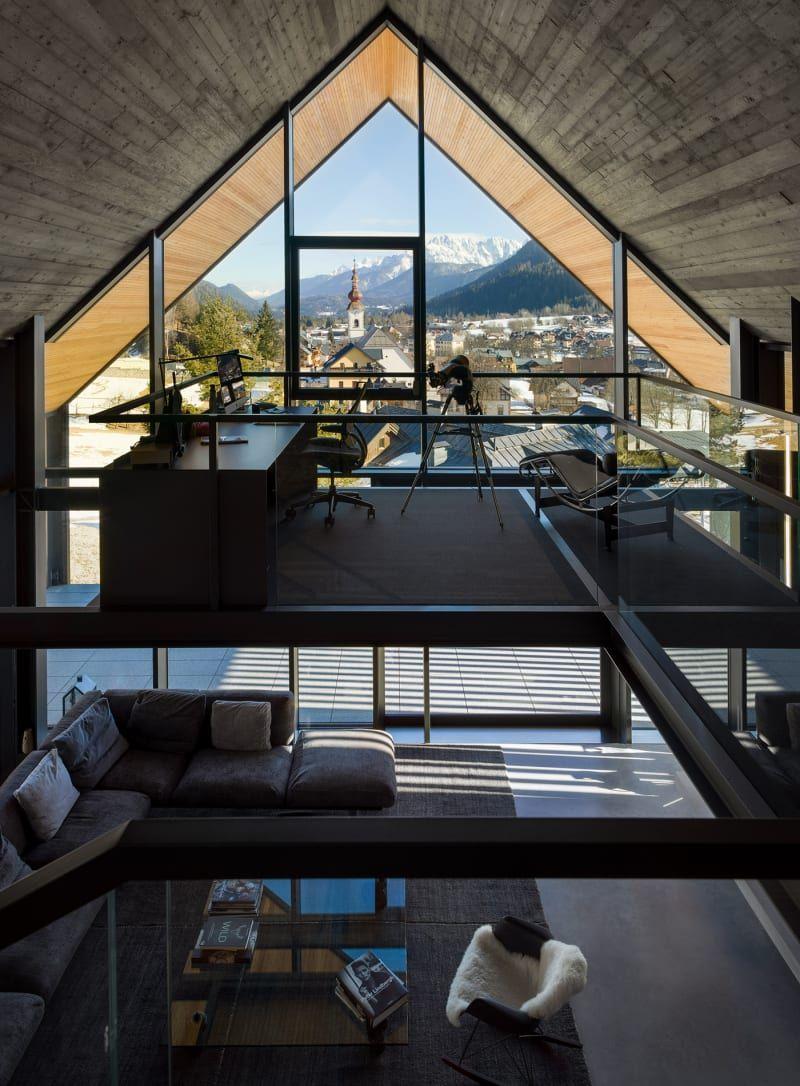 Zeitgemäße Alpenarchitektur von Geza Architekten