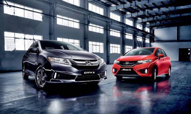 Honda Jazz X Limited Edition And Honda City X Limited Edition Specs Price Honda Jazz Honda City Honda