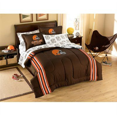9a829103 Cleveland Browns 7-Piece Full Size Bedding Set#UltimateTailgate ...