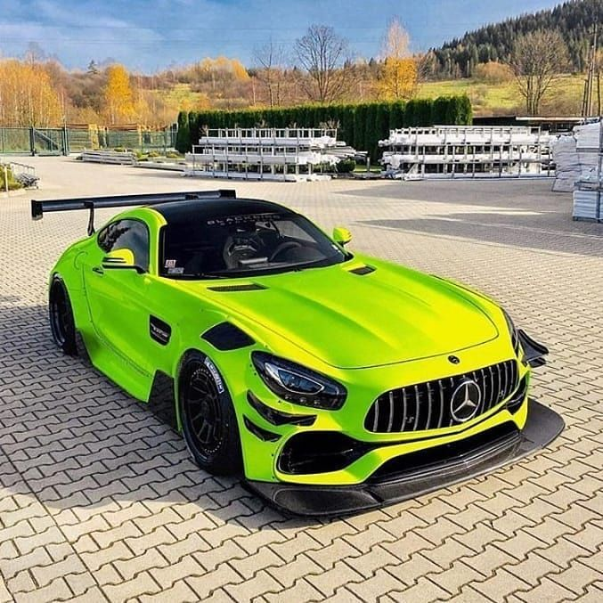 Benz Amg Gt S Pro Amg Mersedes 63 Gts Gtspro Zelyonyj Rossiya