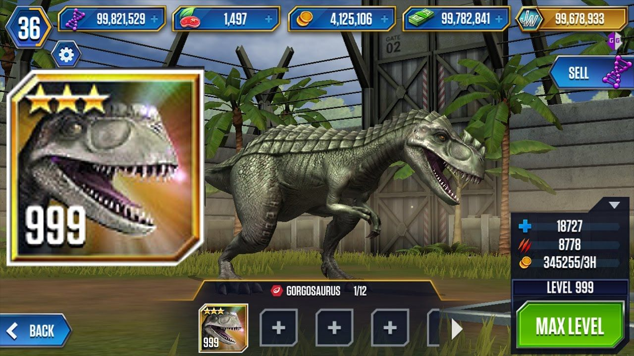 Jurassic world the game hack tool androidios no