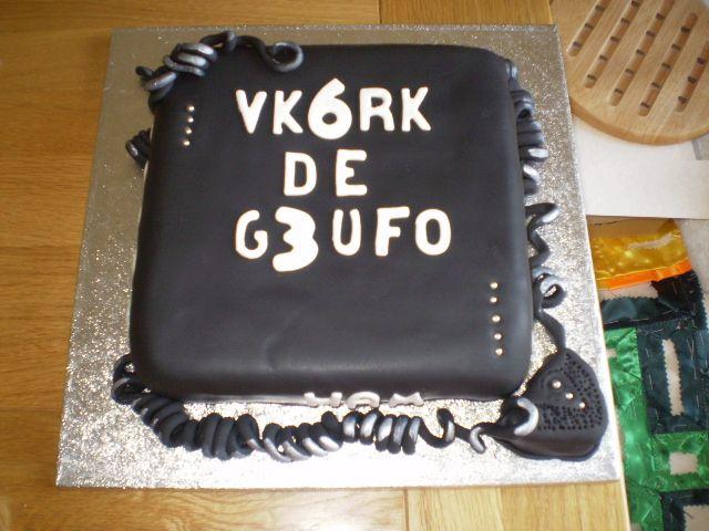 Radio Ham Birthday Cake Cake Icing Pinterest Hams Birthday