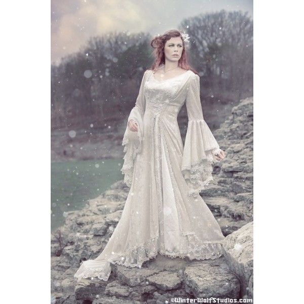 42 Best Renaissance Wedding Dress Images On Pinterest: Victoria Velvet And Lace Medieval Wedding Gown Custom