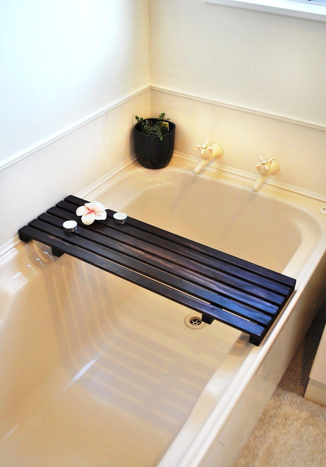 Bath Caddy Diy Easy Woodworking Make a Bathtub Caddy with a 2x12 ...