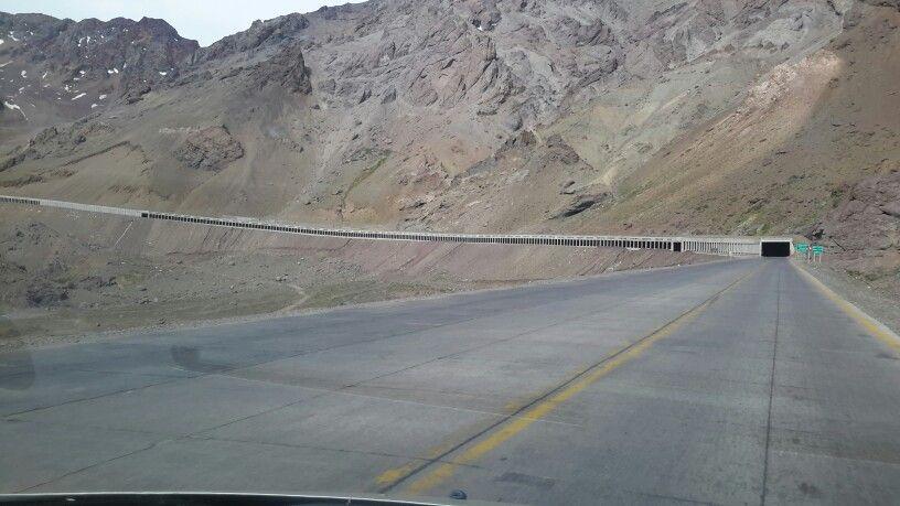 Camino desde Chile