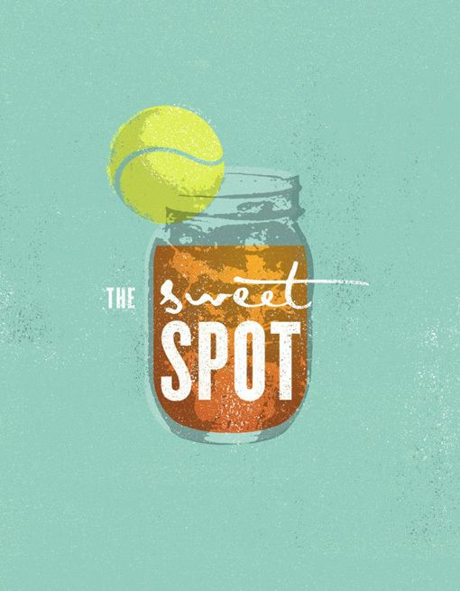 Unique Logo Design on the Internet, The Sweet Spot #logodesign #brandidentity