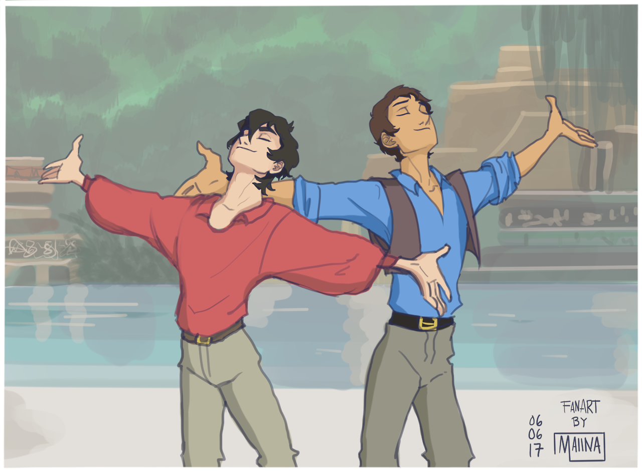 The Road to El Dorado but with Keith and Lance