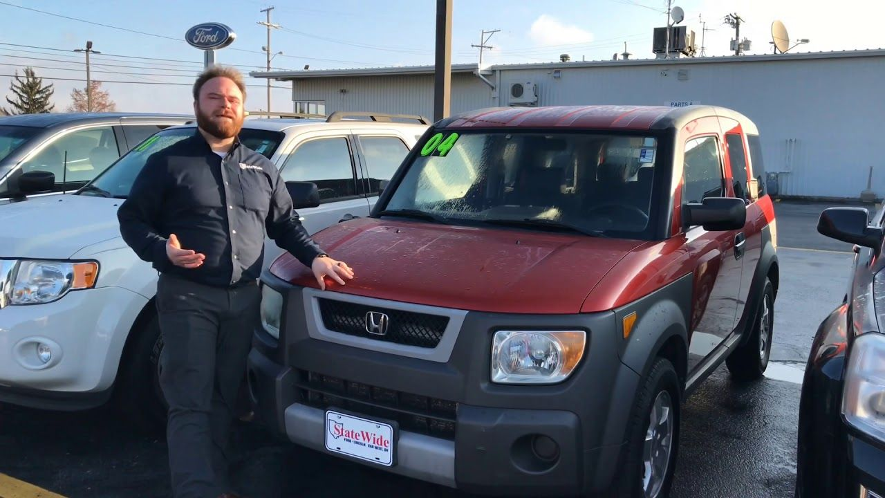 2004 Honda Element Ex At Statewide Ford Lincoln In Van Wert Ohio