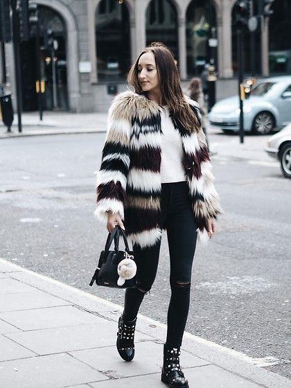 Get this look: http://lb.nu/look/8499133  More looks by Gabriele Gzimailaite: http://lb.nu/gabbygzi  Items in this look:  Ivyrevel Faux Fur, Kurt Geiger Shoes