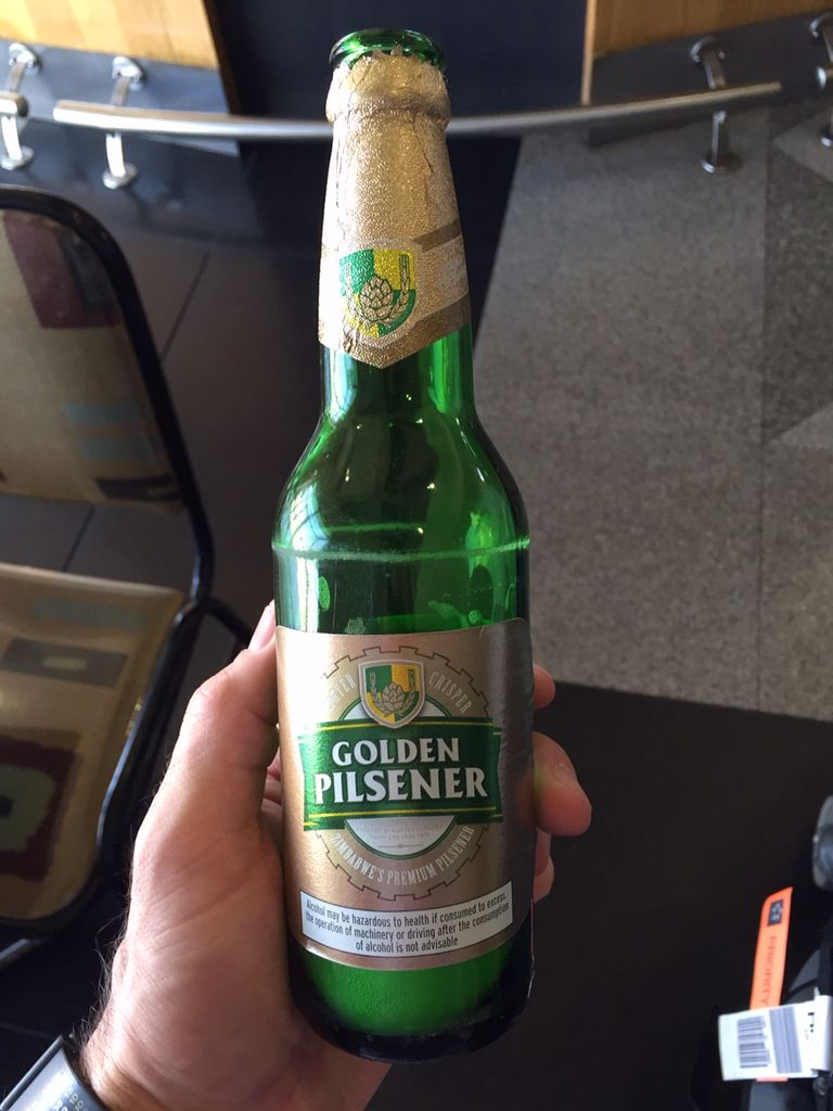 Beer from Zimbabwe