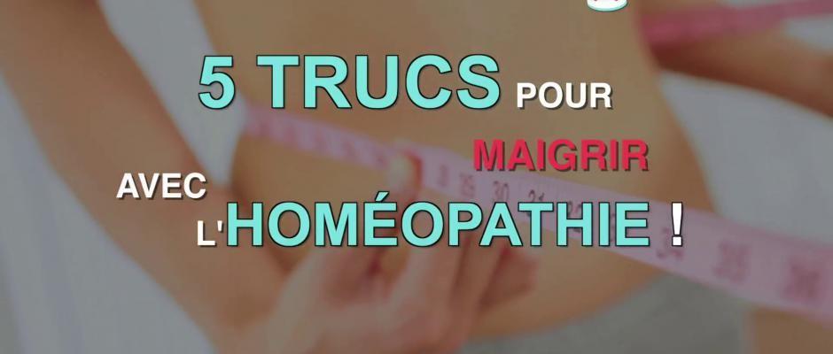 5 trucs pour maigrir avec l'homéopathie | Homeopathie pour